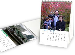 Snapbooks make greate calendars!