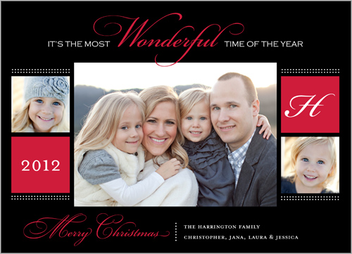 Shutterfly Wonder of Wonders Christmas Cards